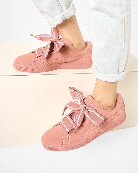 Casual Shoes With Lace-Ups By Puma ( Brown )