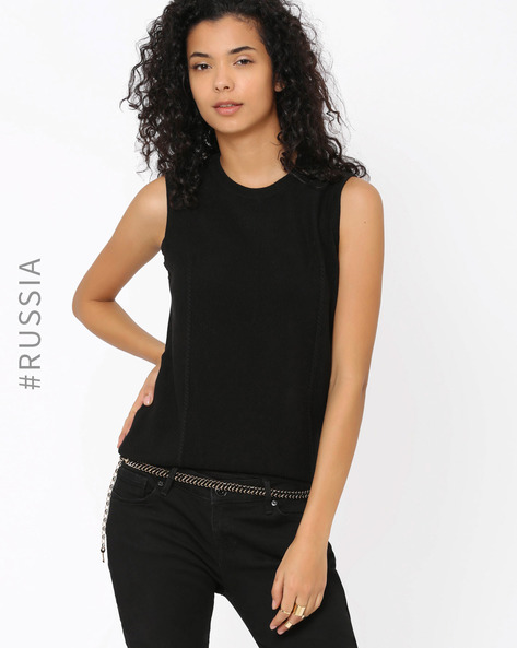 Chain Belt By Kira Plastinina ( Black )