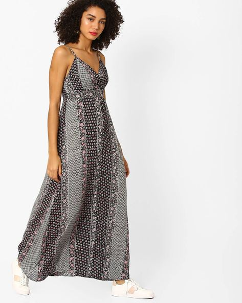 Floral Print Maxi Dress By Rena Love ( Multi )