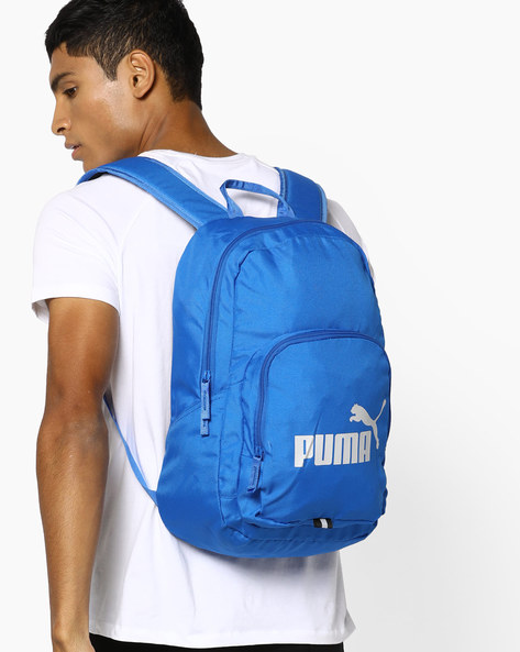 Phase Backpack With Adjustable Straps By Puma ( Blue )