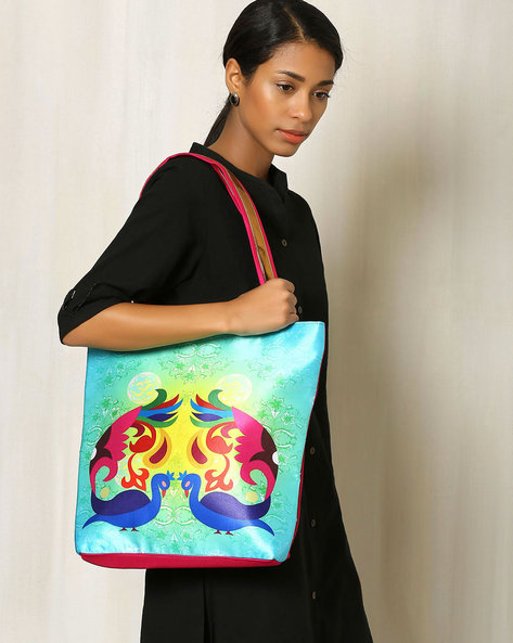 Digital Print Tote Bag By All Things Sundar ( Multi ) - 460040300001