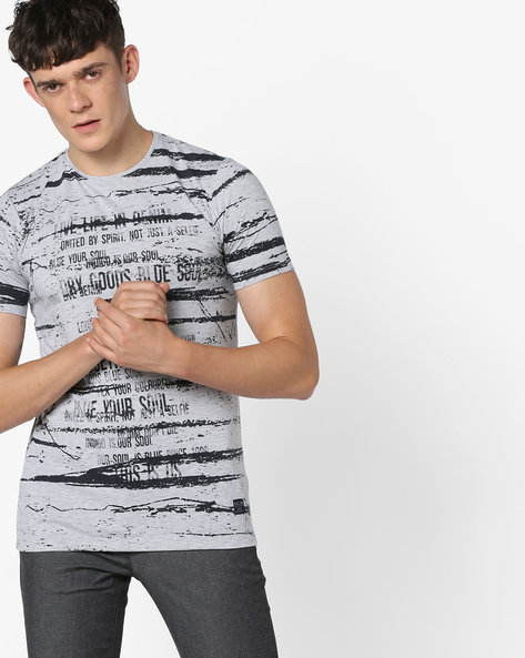 Graphic Print T-shirt By Killer ( Assorted )