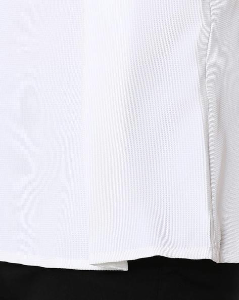 Sleeveless Peplum Top By Vero Moda ( White )
