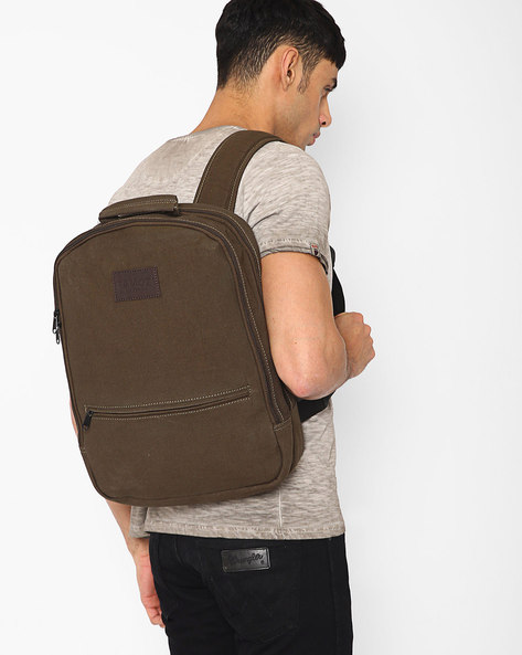 Backpack With Laptop Compartment By FAMOZI ( Olive )