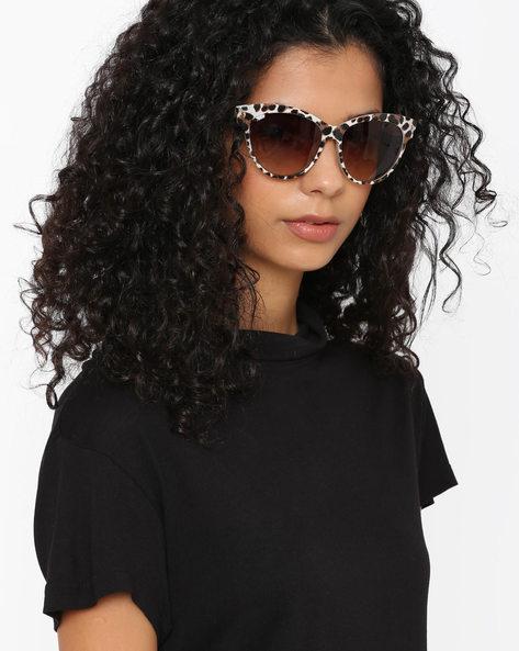 Graduated Cat-Eye Sunglasses By Farenheit ( Multi )