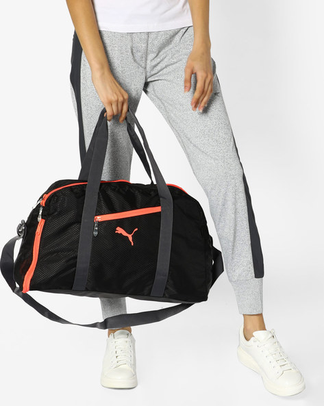 Sports Duffel Bag By Puma ( Black )