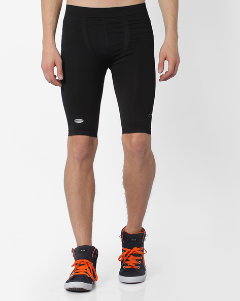 Performance Fit Seamless Shorts By PROLINE ( Black )
