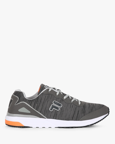 Oliver Mid-Top Panelled Sneakers By FILA ( Grey )