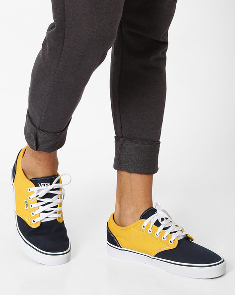 Low-Top Atwood Sneakers By Vans ( Navy )