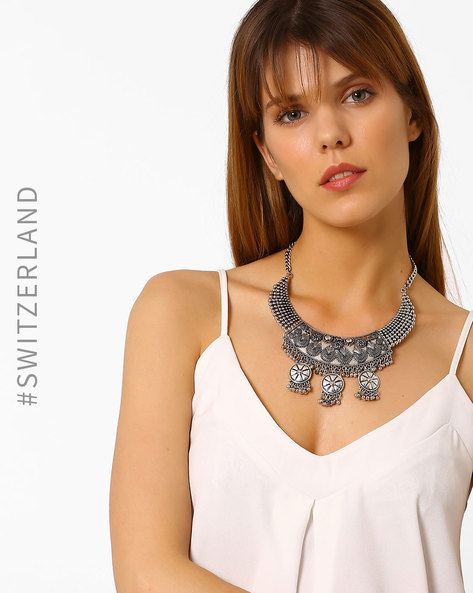 Antique Silver-Toned Necklace By TALLY WEiJL ( Silver )