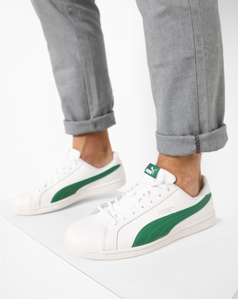 Lace-Up Sneakers By Puma ( White ) - 460168841002
