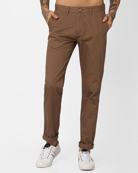 Slim Fit Flat-Front Trousers By U.S. Polo Assn. ( Assorted )