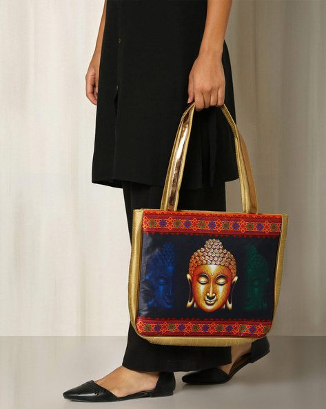 Digital Print Hand Bag By All Things Sundar ( Multi ) - 460040276001