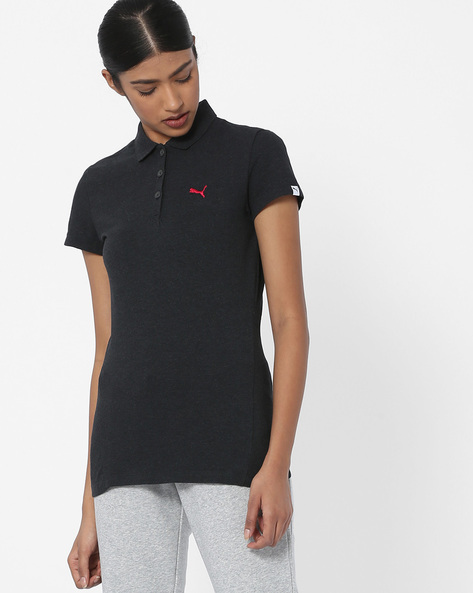 Polo T-shirt With Short Sleeves By Puma ( Darkgrey )