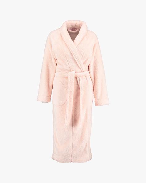 Night Robe With Detachable Waist Tie-Up By Hunkemoller ( Pnk ) - 410068002001