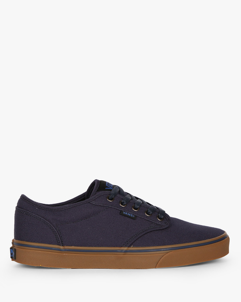 Atwood Lace-Up Casual Shoes By Vans ( Blue )