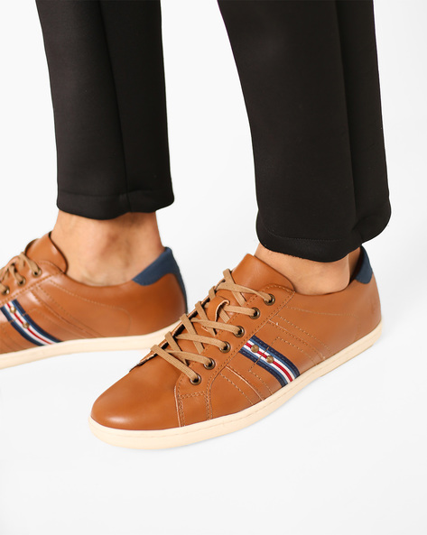 Low-Top Lace-Up Shoes By Bond Street By Red Tape ( Tan ) - 460158976004