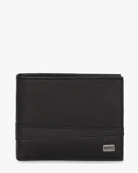 Genuine Leather Bi-Fold Wallet By FLYING MACHINE ( Black ) - 460070710001