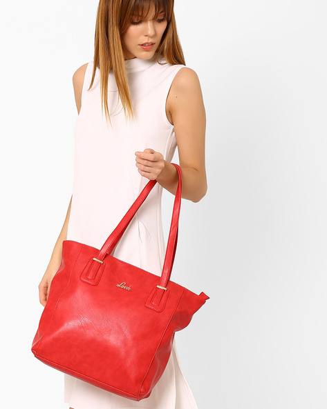PU Tote Bag By Lavie ( Red )