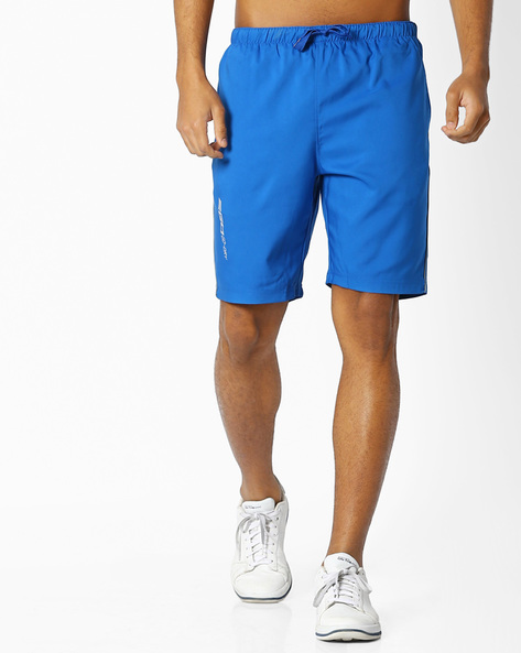 GoDry Shorts With Elasticated Waist By 2Go ( Blue )
