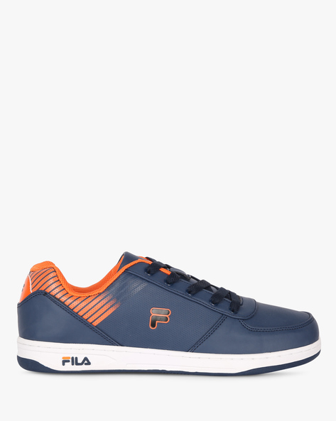 Mack Panelled Lace-Up Shoes By FILA ( Blue )