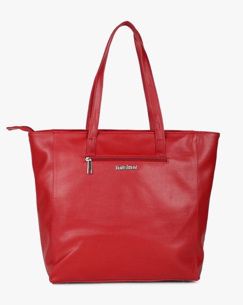 Tote Bag With Laser Cut-Outs By Toteteca ( Red ) - 460192512001