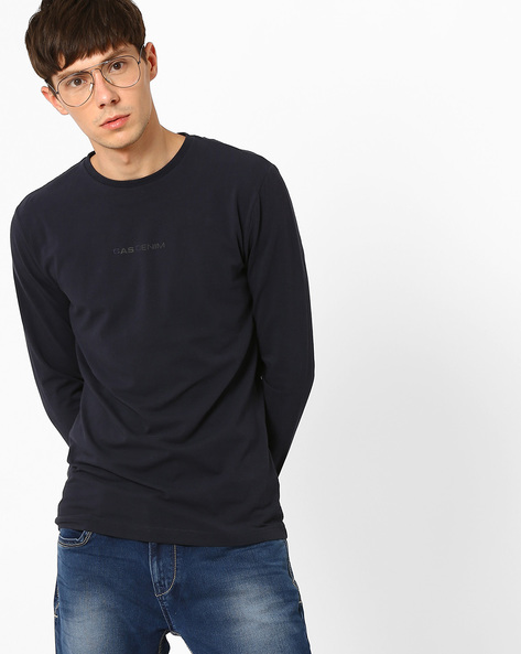 Slim Fit Crew-Neck T-shirt By GAS ( 0194 ) - 410067044014