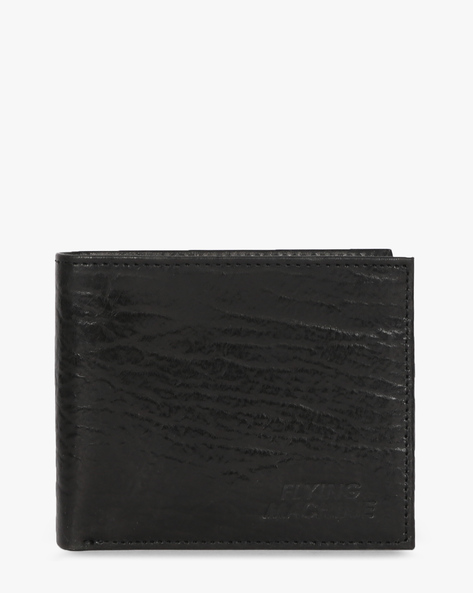 Genuine Leather Bi-Fold Wallet By FLYING MACHINE ( Black ) - 460070695001