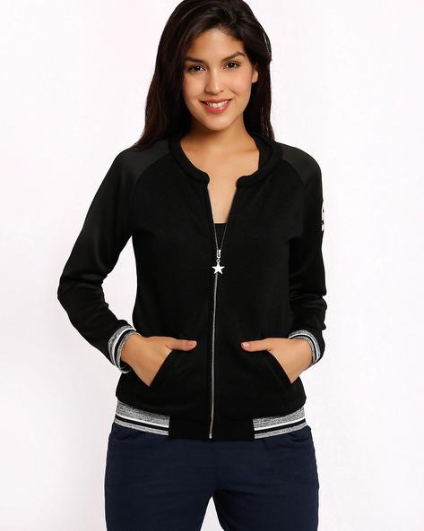 Sweatshirt With Raglan Sleeves By TEAM SPIRIT ( Black )
