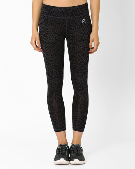 Ankle-Length Leggings By PrettySecrets ( Black )