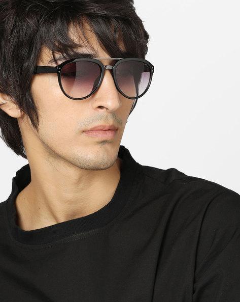 UV Protected Full-Rim Sunglasses By Pataaka ( Black )
