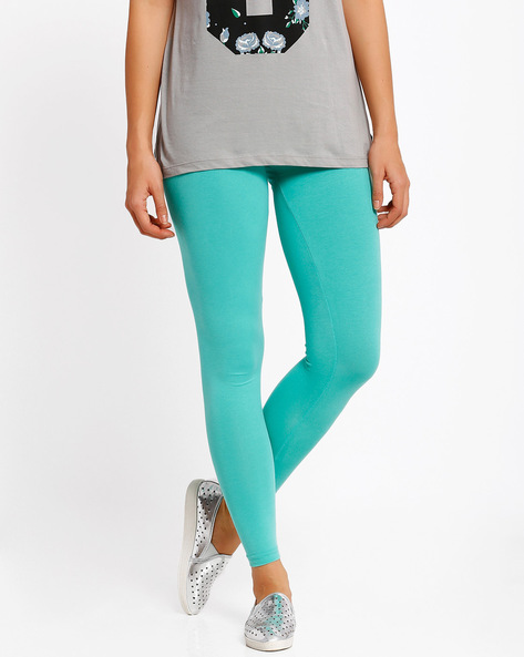 Ankle-Length Leggings By Go Colors ( Assorted )