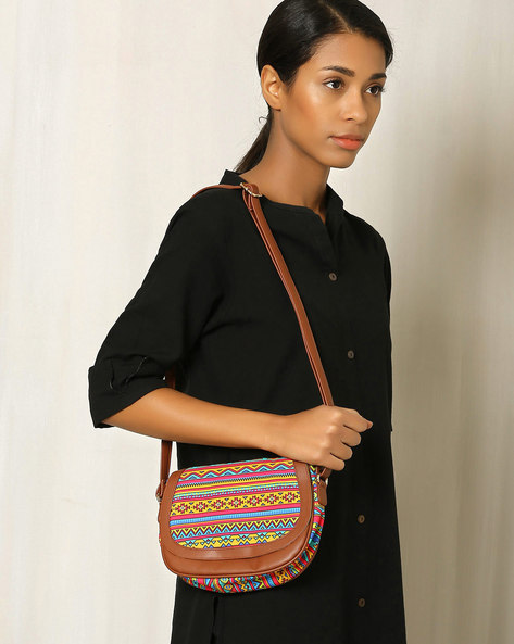 Digital Print Sling Bag By All Things Sundar ( Multi ) - 460040256001