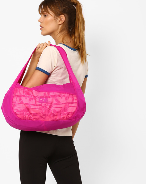 Studio Barrel Bag By Puma ( Pink )