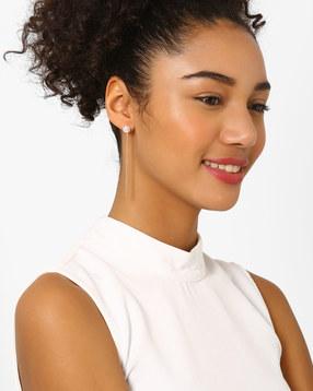 Pearl Drop-Earrings