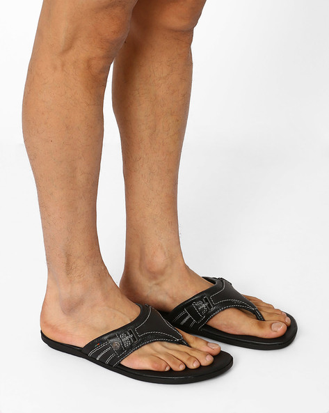 Paxton Leather Sandals By BUCKAROO ( Black )