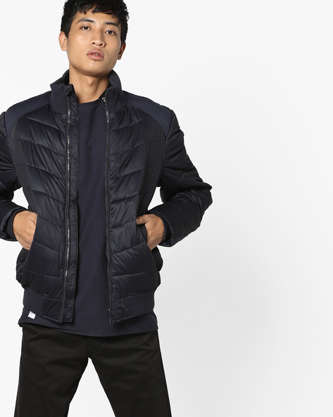 Quilted High-Neck Jacket By GAS ( 0194 )
