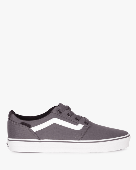 Casual Shoes With Lace-Ups By Vans ( Grey ) - 460104008002