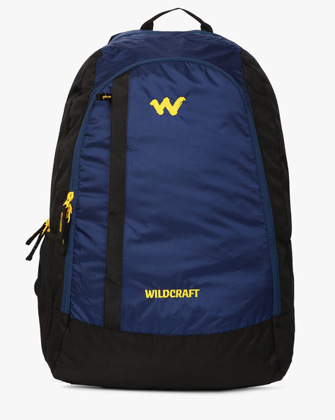 Panelled Colourblock Backpack By Wildcraft ( Blue )