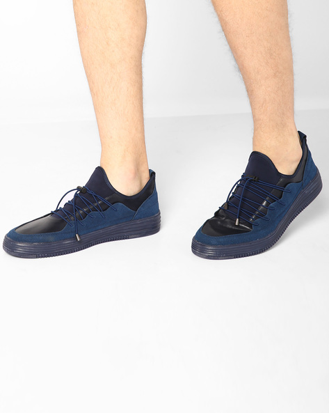 Sneakers With Toggle Closure By Muddman ( Navy )