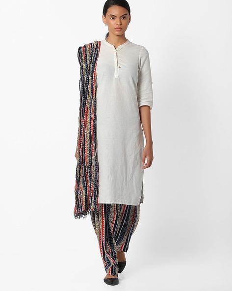 Printed Patiala Pants By Stylenmart ( Multi )