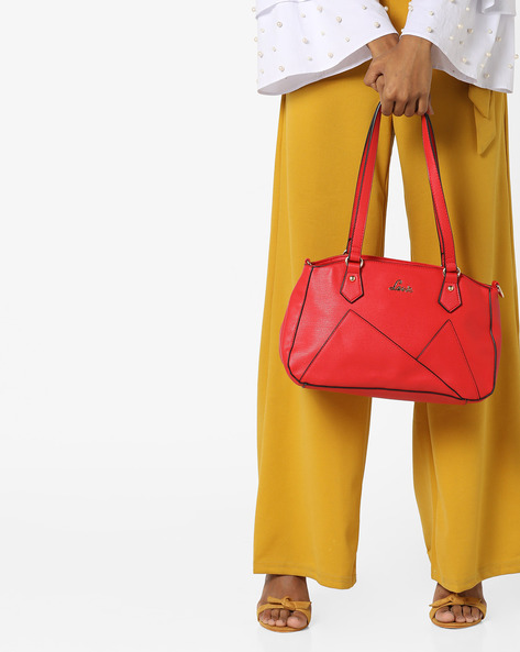 Apollo Handbag With Detachable Sling Strap By Lavie ( Red )