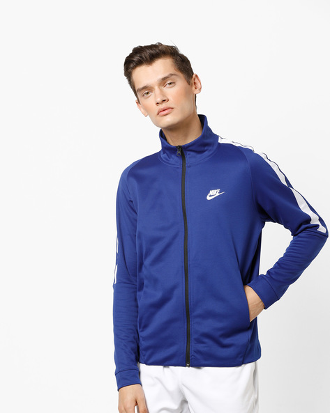 N98 Zip-Front Jacket With Insert Pockets By NIKE ( Blue )