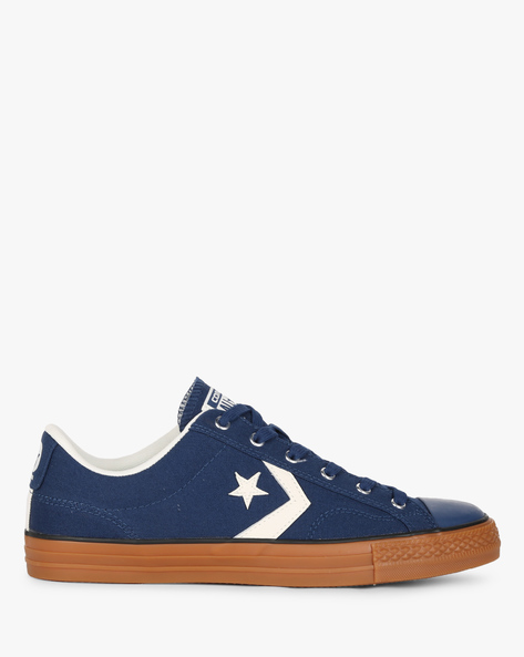 Casual Canvas Lace-Ups By CONVERSE ( Navyblue )