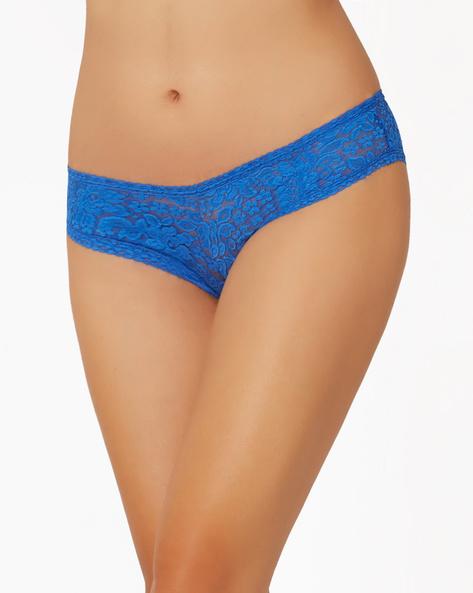 Lace Hipster Panty By PrettySecrets ( Blue )