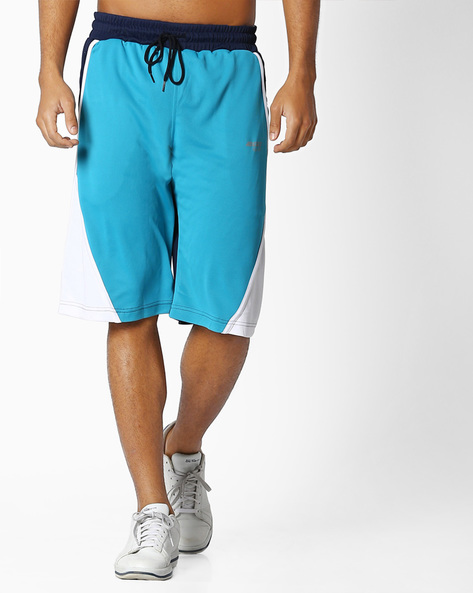 GoDry Shorts With Elasticated Waist By 2Go ( Turquoise )