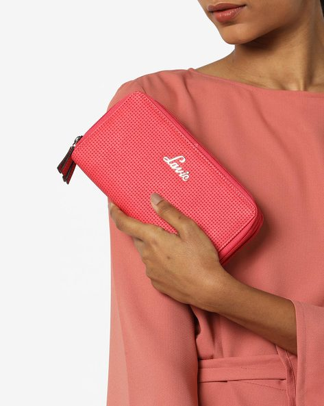 Papel Zip-Around Wallet By Lavie ( Red )