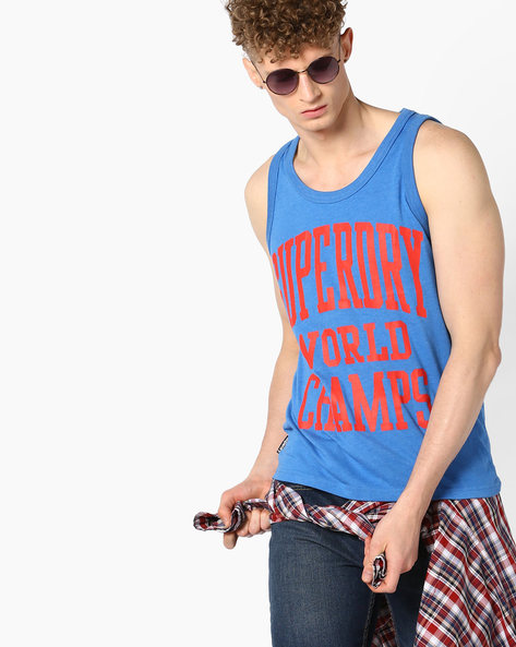 World Champs Fashion Vest By SUPERDRY ( 61z )