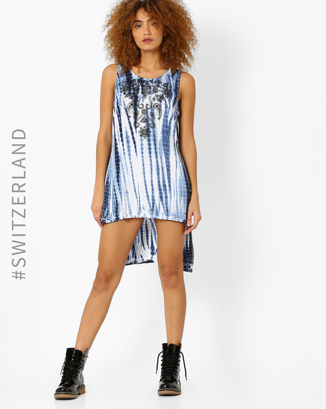 Printed High-Low Tunic By TALLY WEiJL ( White )