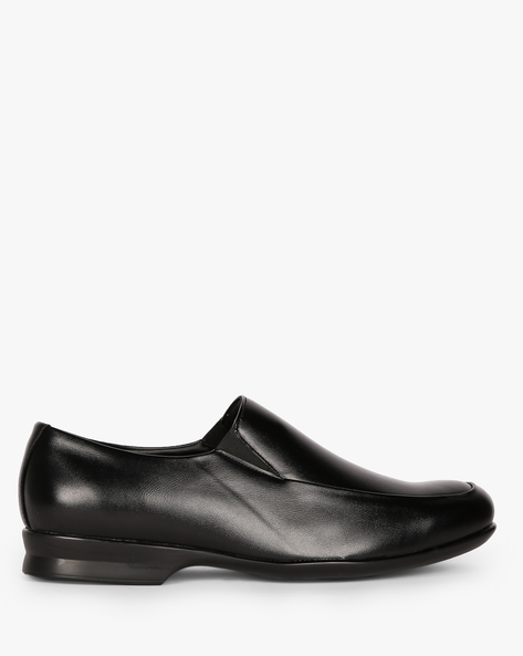 Low-Top Slip-On Shoes By ESCARO ( Black )